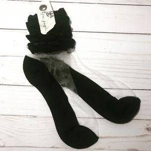 Free People Ruffle Ankle Sock